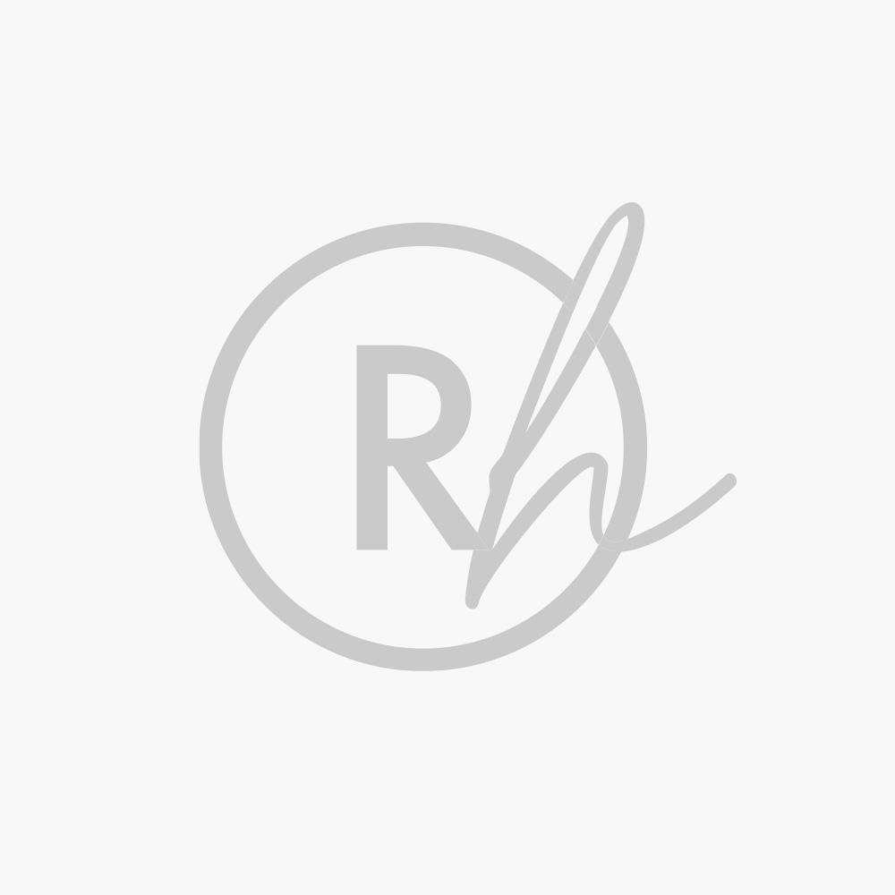 Runner Tavola 55x150 cm Happy People Bio Rosso Puro Cotone