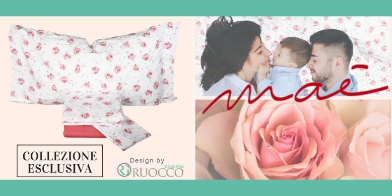 Collezione Esclusiva Maè Via Roma, 60 design by Ruocco Biancheria