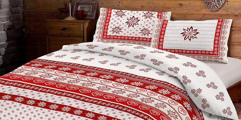Copripiumino natalizio: l'aria di festa della tua stanza da letto