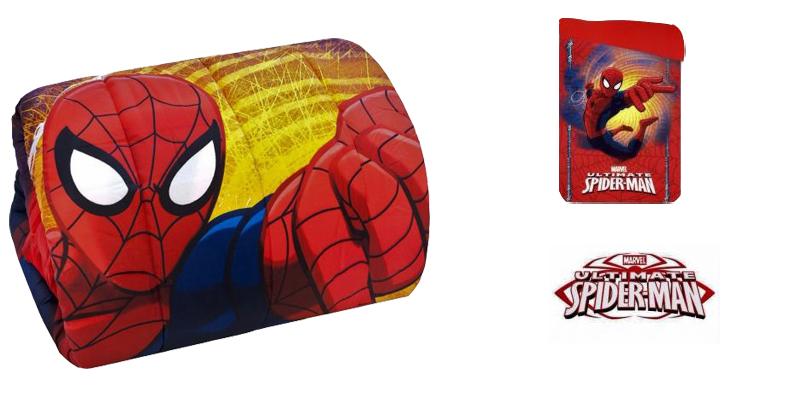 Trapunta Spiderman: la trapunta singola con l'uomo ragno di Marvel